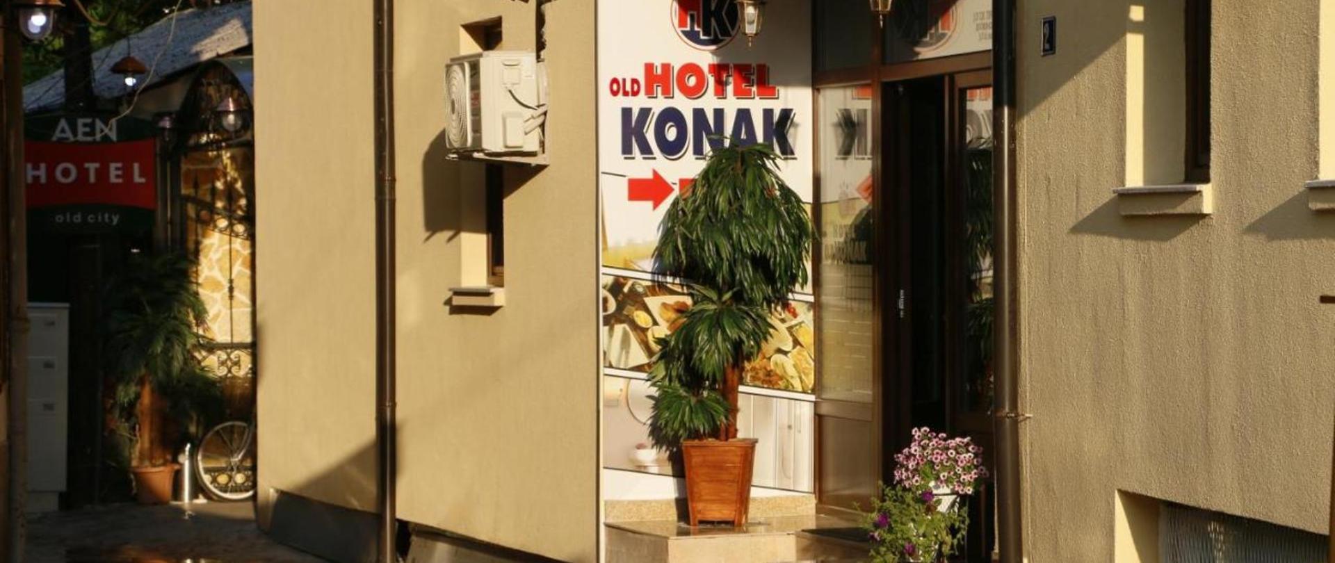 โรงแรมเก่า Konak