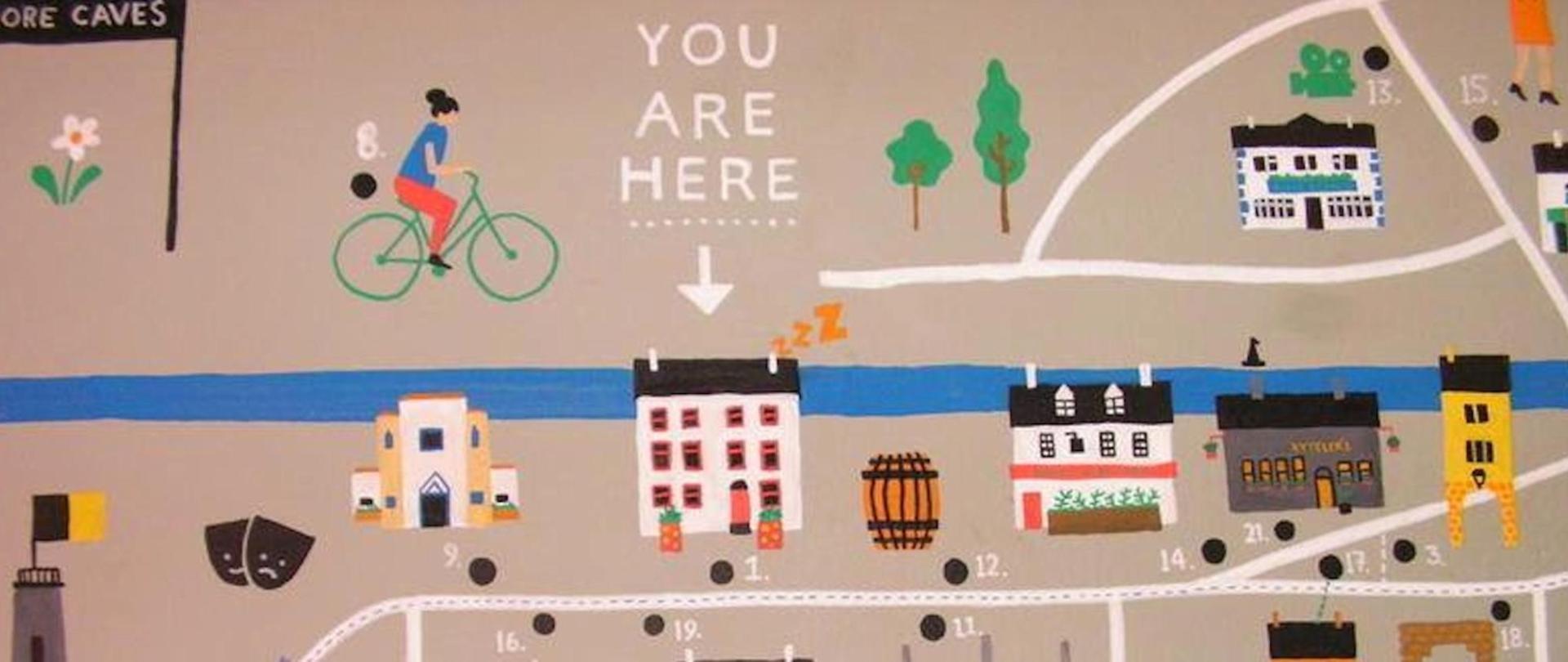 Kilkenny Tourist Hostel Mural
