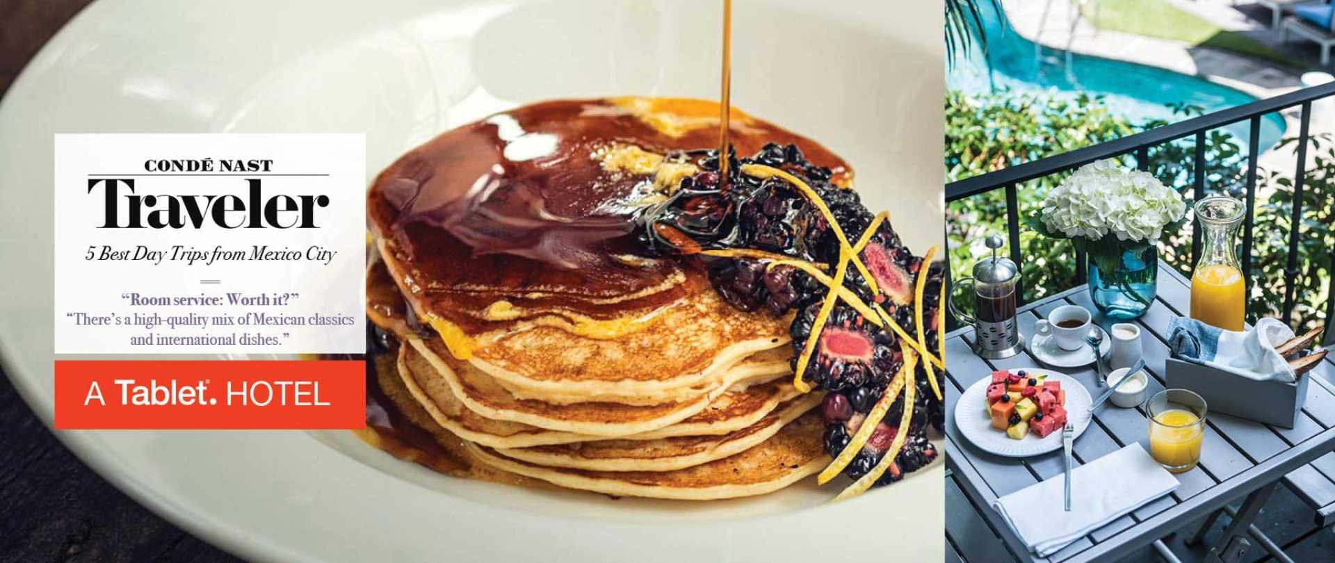 Best Breakfast In Town! Desayuno Incluido Con Tu Estadia, Las Casas B+B Boutique Hotel en Cuernavaca Centro