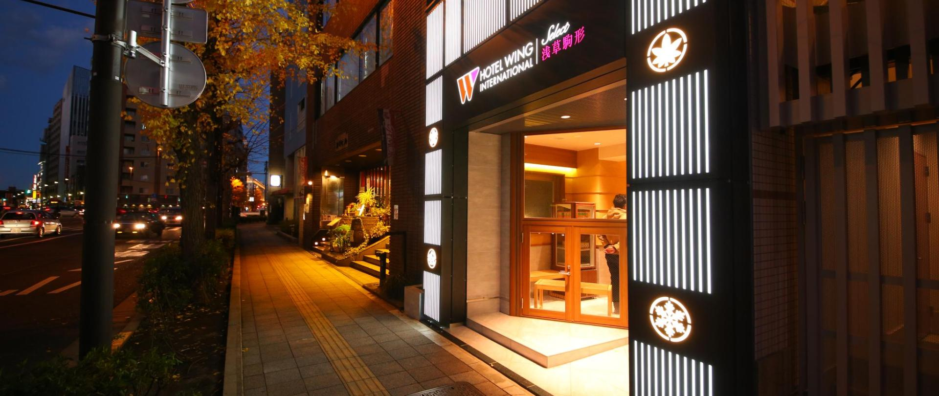 Hotel Wing International Select Asakusa Komagata