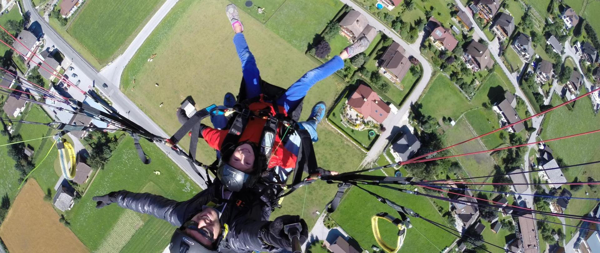 duo paragliding