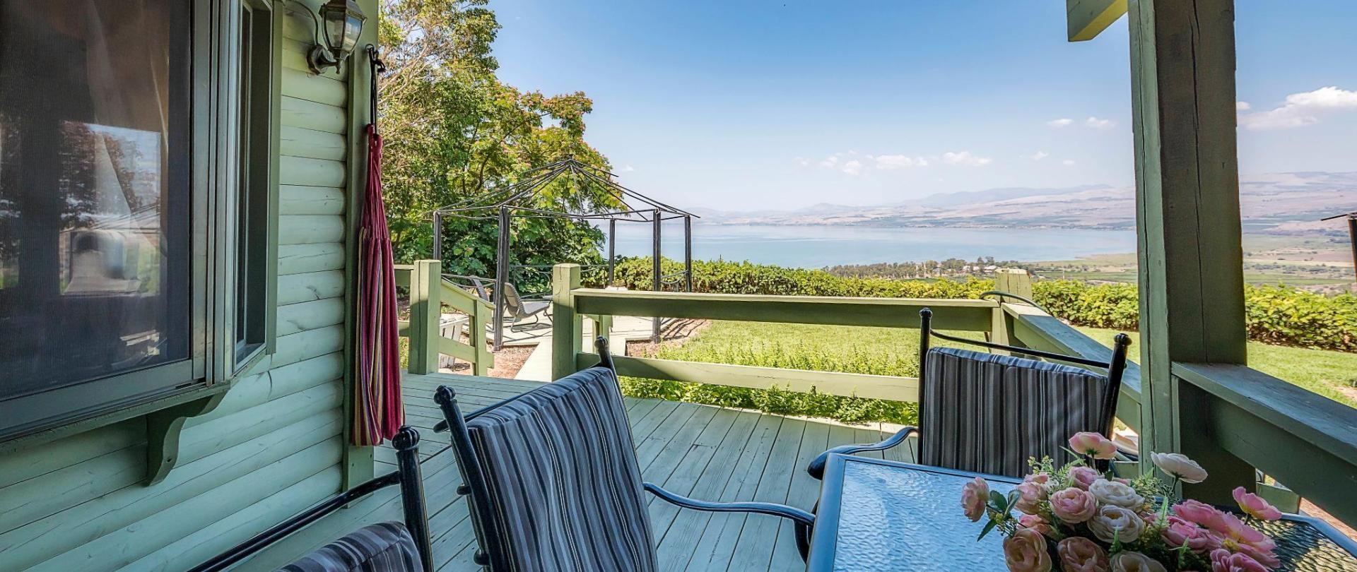 Sea of Galilee Panoramic View