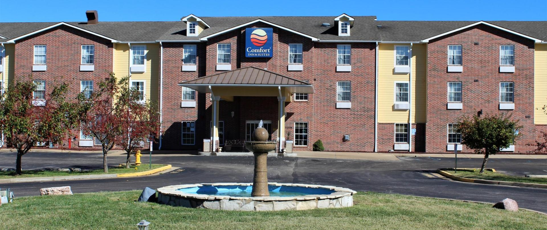 Comfort Inn Suites St Louis Hotels Chesterfield Mo