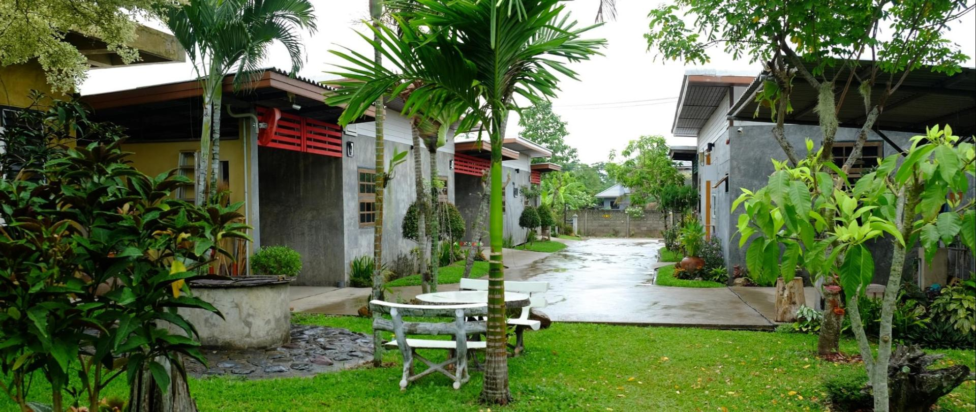 The rainy season in June/ Secured Paraking/ Property Building/ Entrance