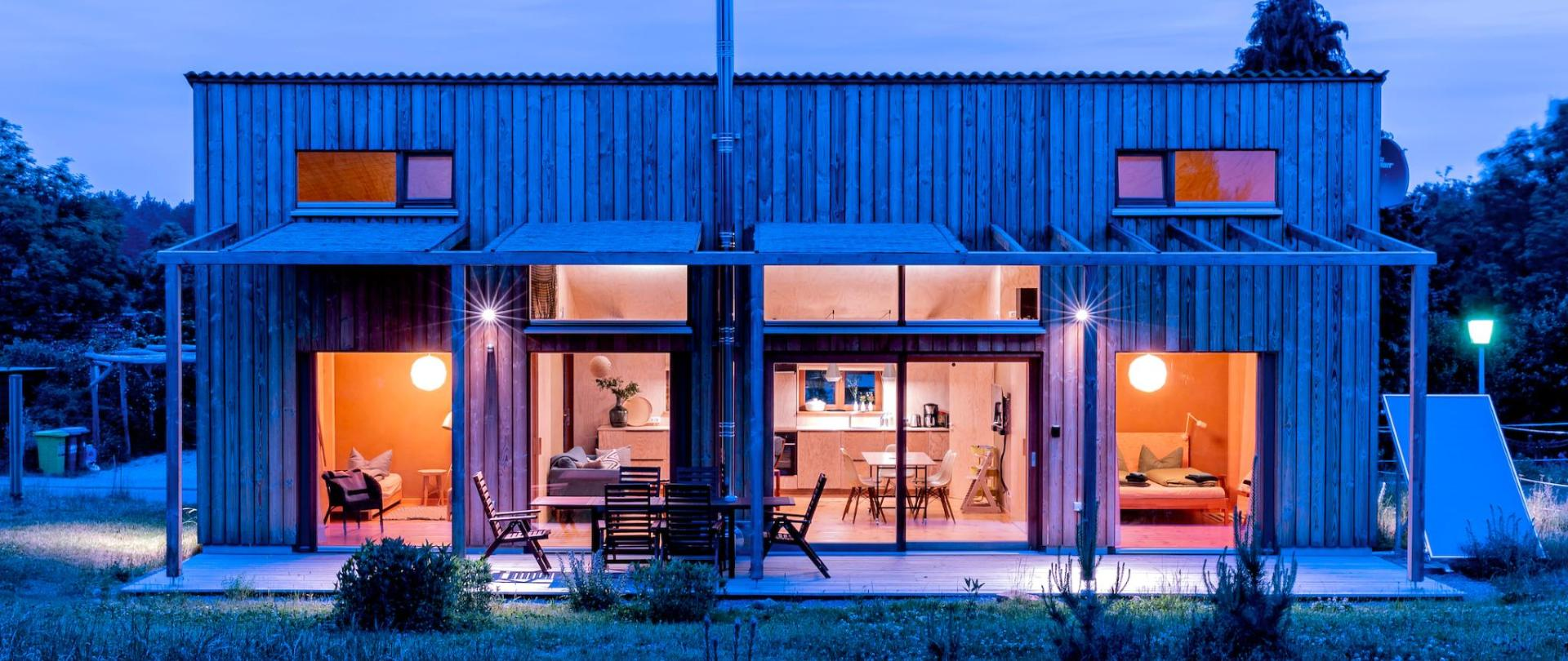 Studio Zempow ökologisches Holzhaus Fotostudio