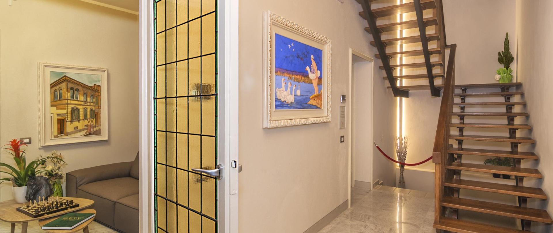 比萨奇尼宫豪华客房