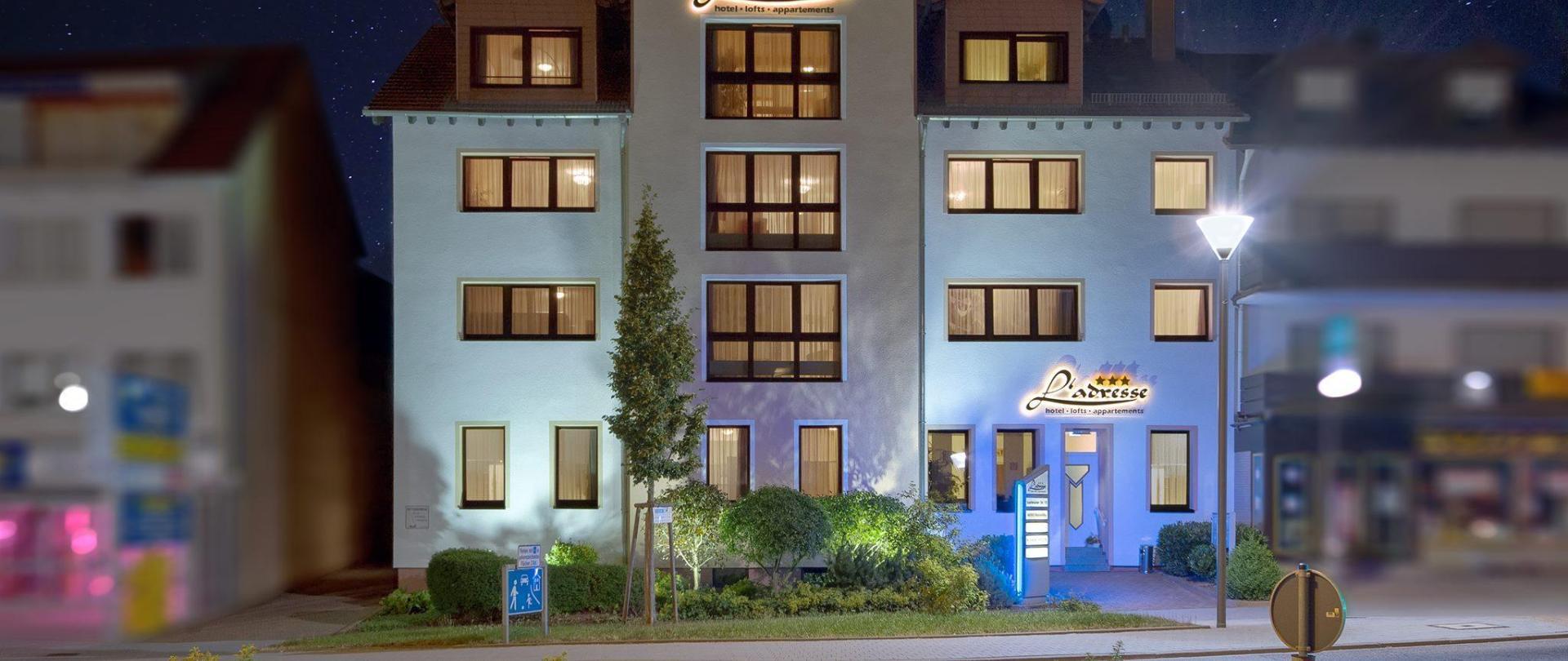 Hotel l'adresse garni
