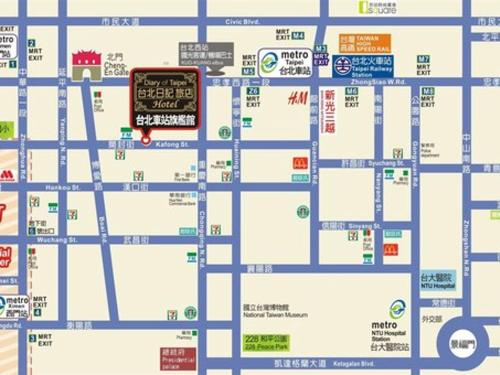 MOSHAMANLA Hotel-Main Station Official Site | Hotels in Taipei