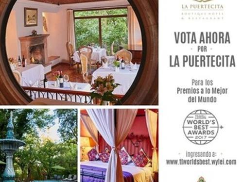 Vote for Boutique Hotel La Puertecita