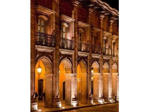 The incredible buildings downtown San Miguel