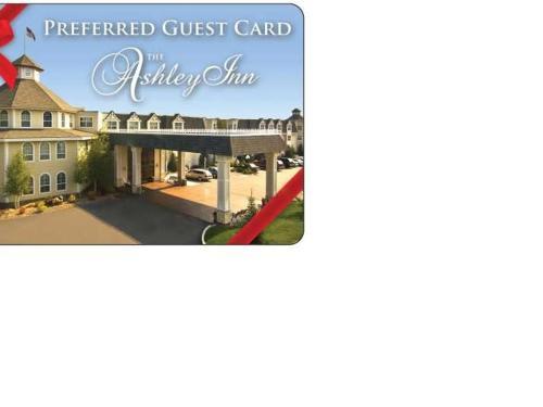 Ashley Inn Gift Certificates Available