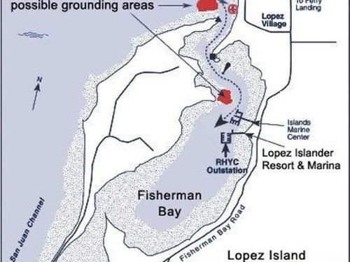 Marina In Fisherman Bay Lopez Islander Resort Lopez Island Wa Usa
