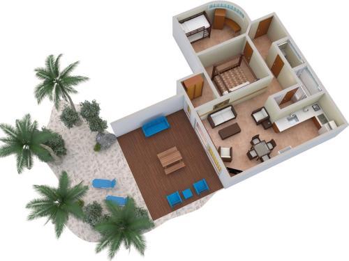 Members Only - 2 Bedroom Family Beach Holiday @ The Rarotongan!