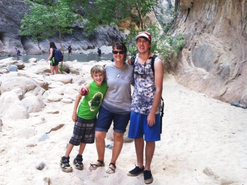 Zion's Riverwalk Narrows Hike