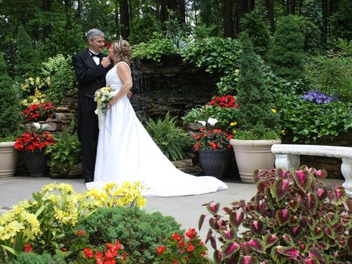Ceremonies In Our Outdoor Wedding Center