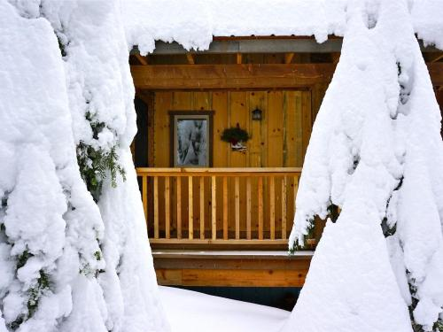 Winter at the Lodge