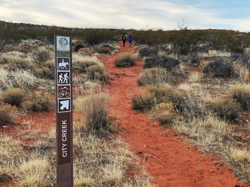 Hiking the Roadrunner to City Creek Trail