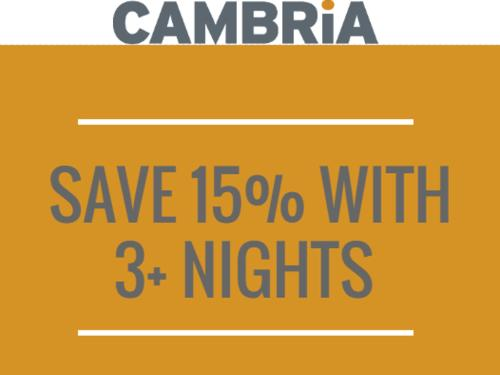 Stay 3 Nights and Save!