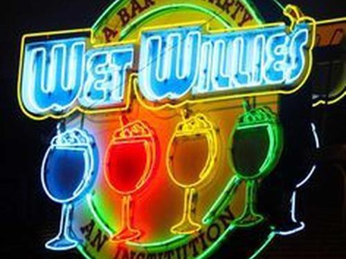 Wet Willie's Frozen Daiquiri Bar