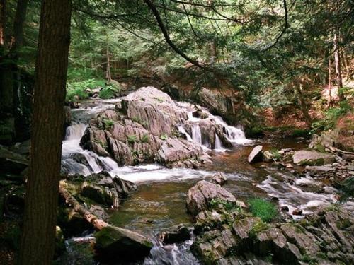Windsor Jambs - Falls in the Berkshires