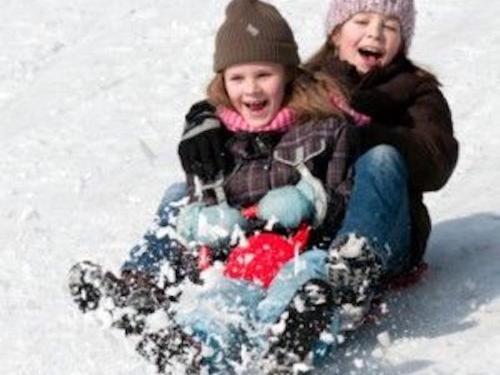 Winter Activities in the Berkshires- Sledding