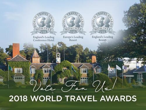 The Belfry Has Been Shortlisted For Three Fantastic Accolades At World Travel Awards