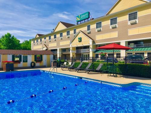 Amenities Quality Inn Suites Evergreen Hotel Augusta Maine