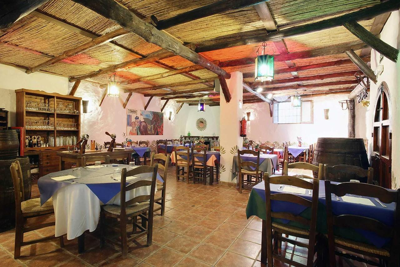 Our restaurant dining room. La Bodega del Bandolero
