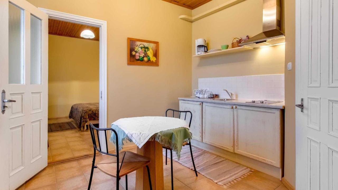 Küche im Doppelzimmer Joseph