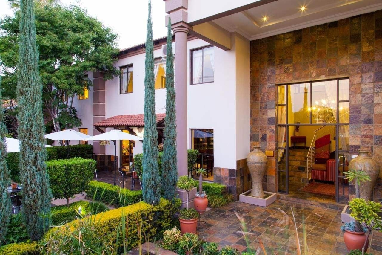 Entrance and lobby at Constantia Manor Guesthouse