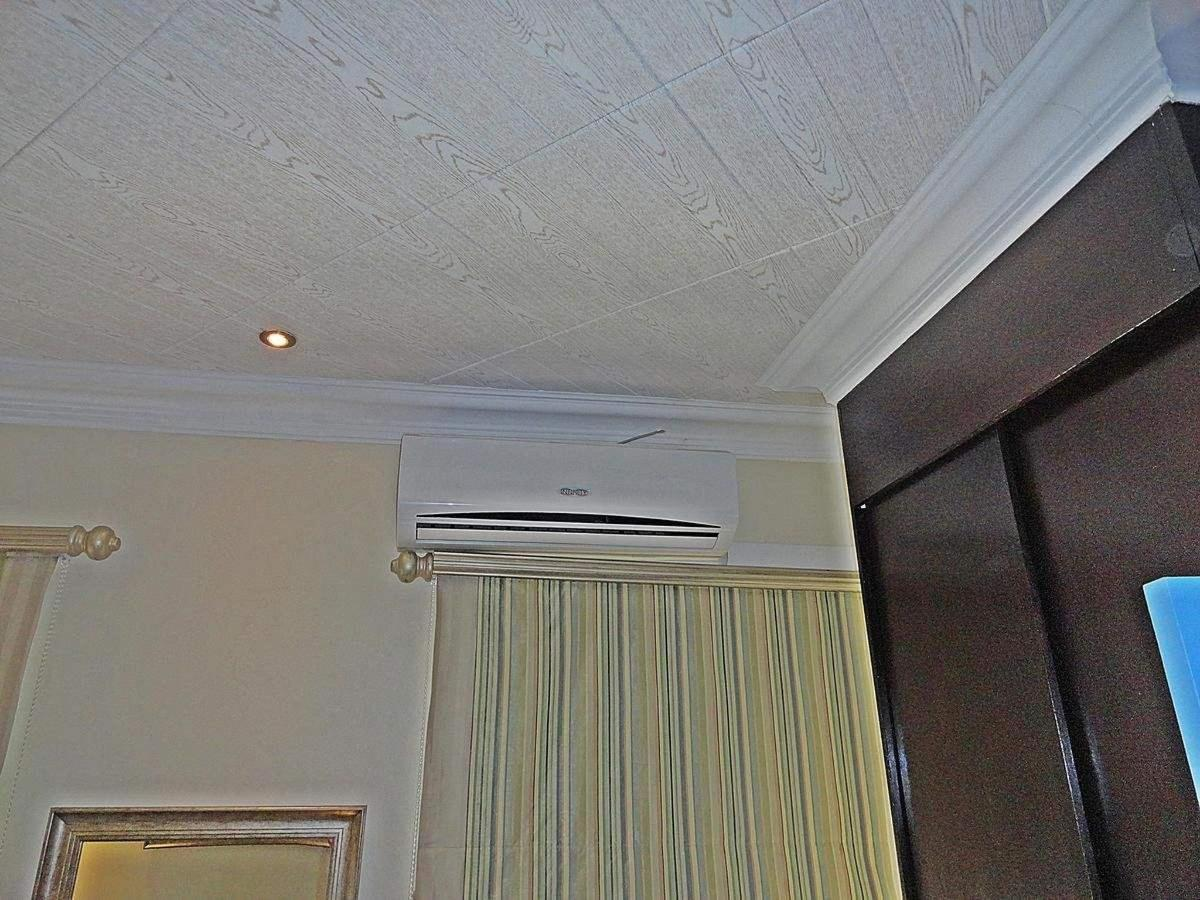 Air conditioning in all rooms