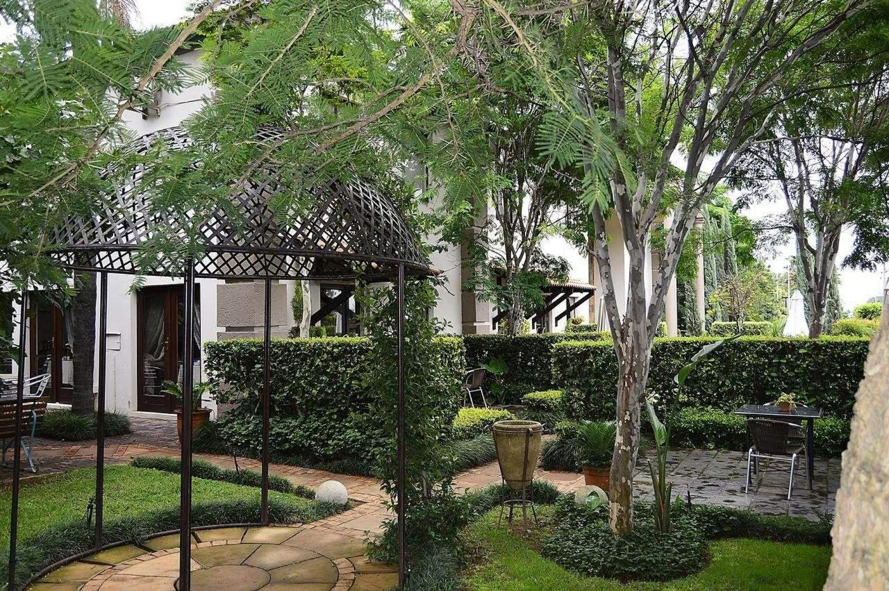 Gazebo and outside view of Constantia Manor Guesthouse