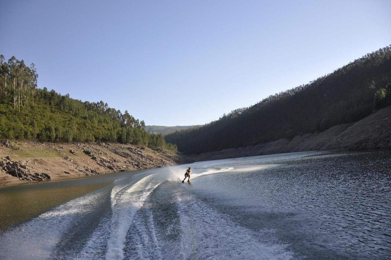 Ski no rio Zêzere