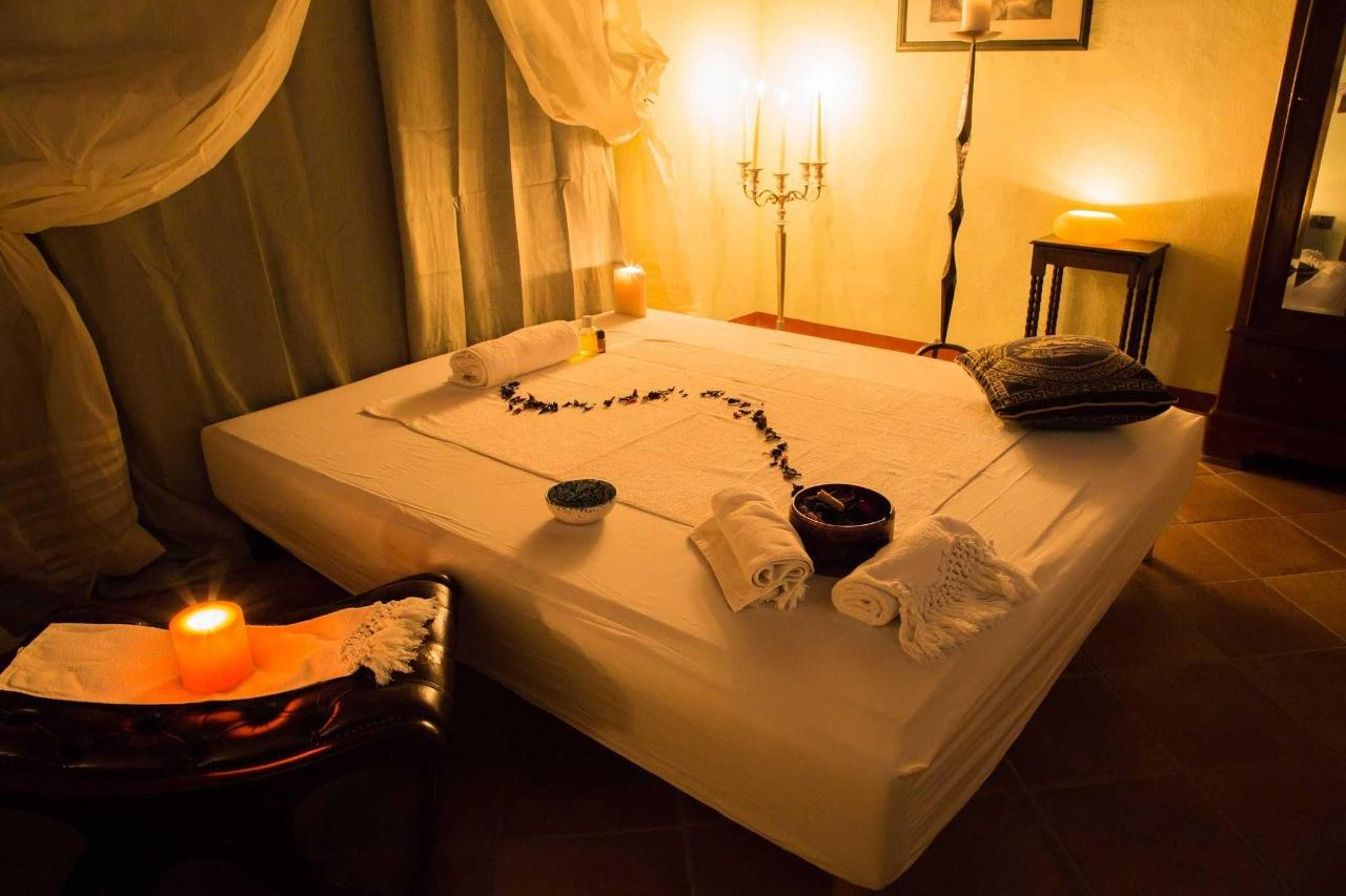 Massages and relaxation at Borgo Tepolini