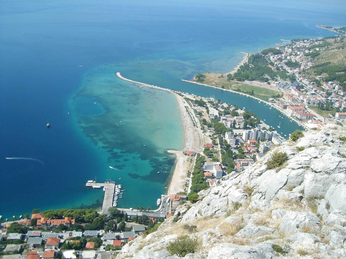 Omiš Birdview