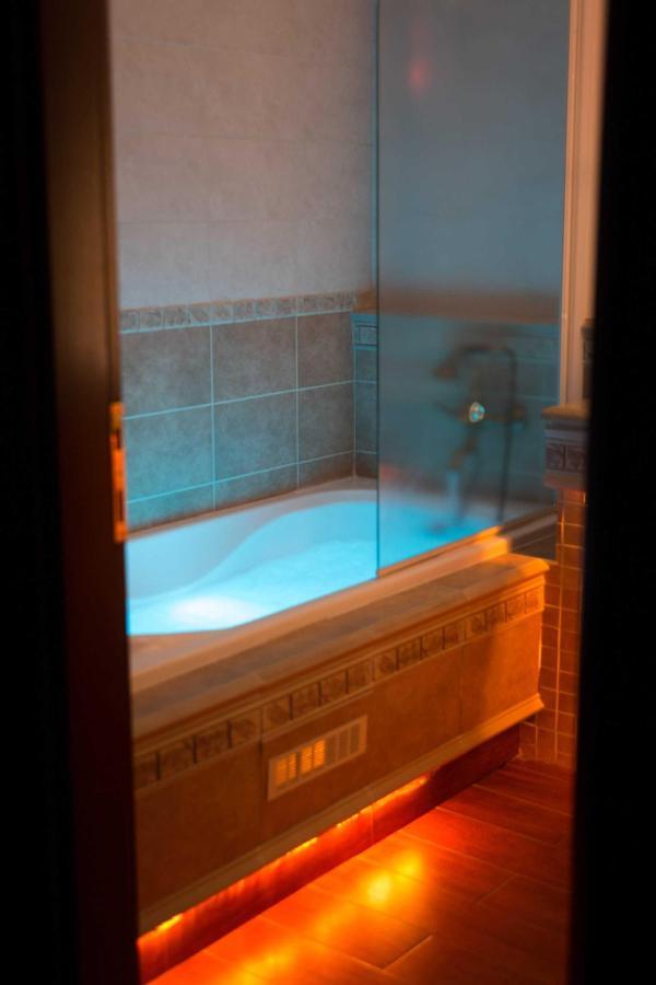 Chromothérapie salle de bains (Glafke)
