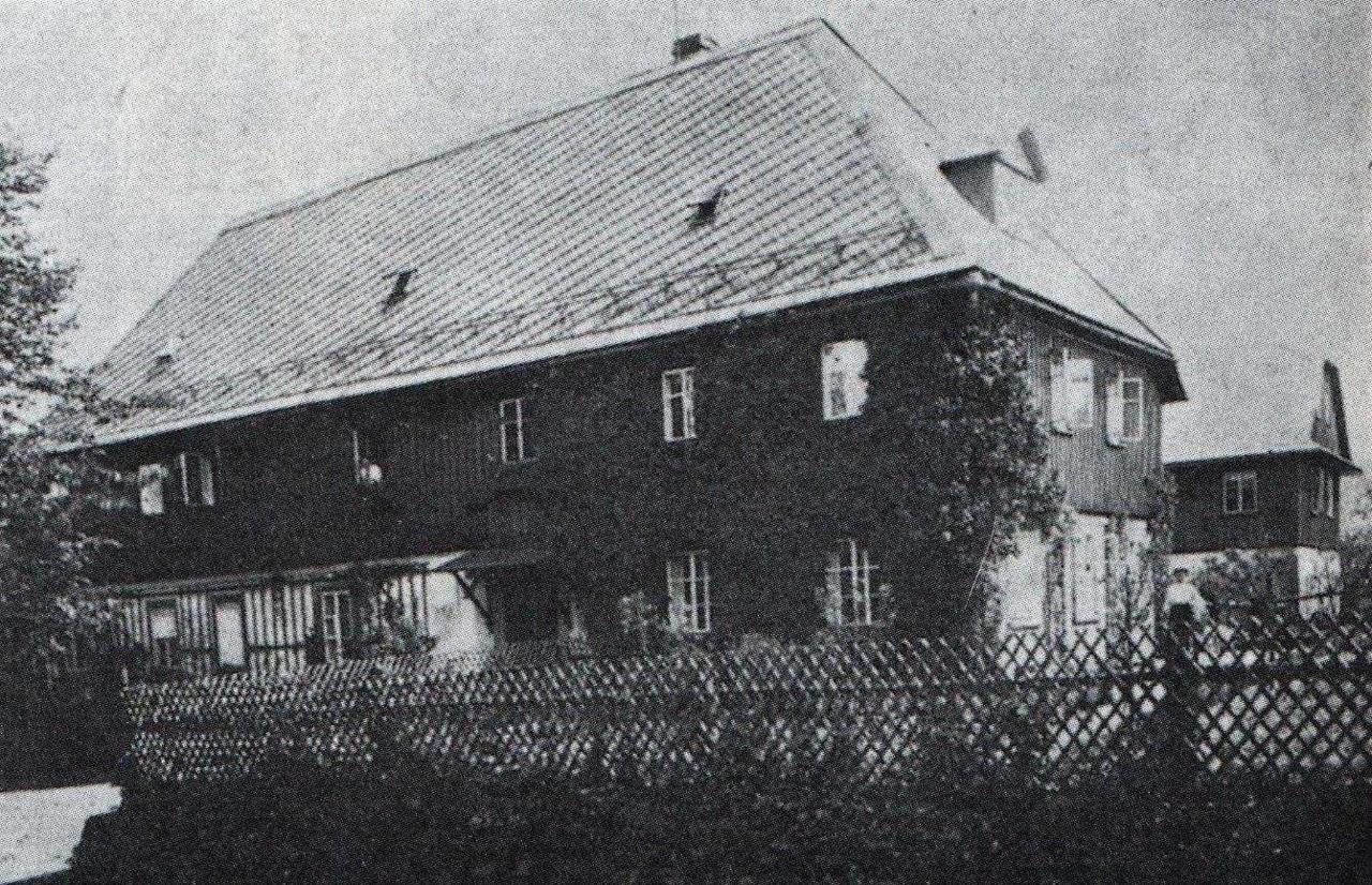 Penzion v roce 1899