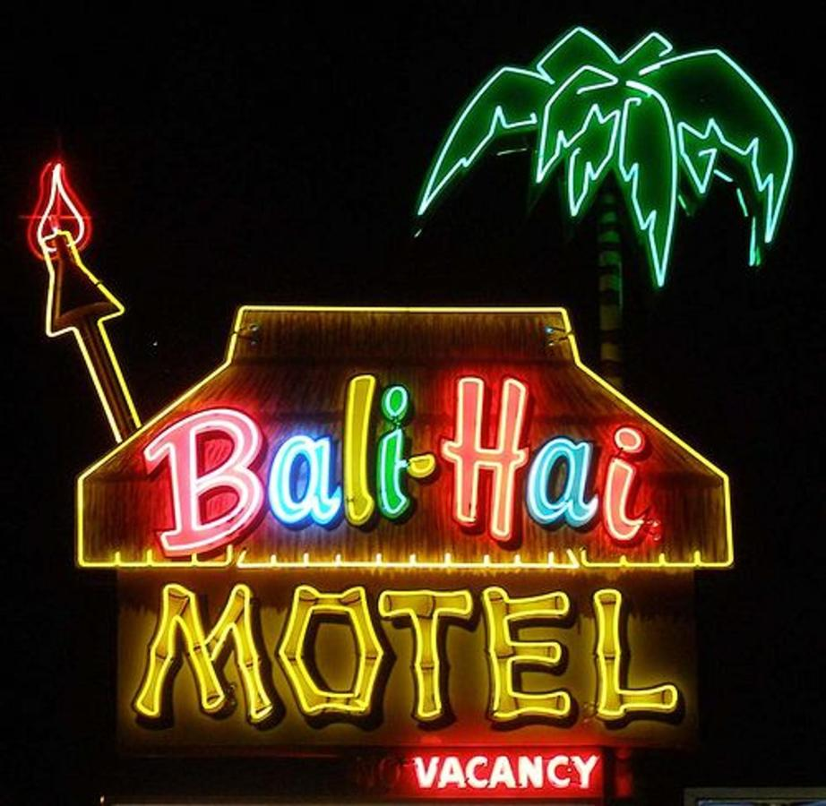 Bali Hai Neon at Night