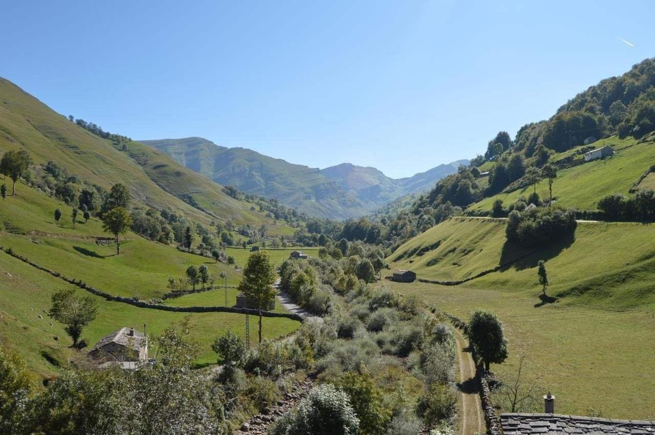 Vistas del Valle desde la Posada, despierta con unas vistas mas que agradables.