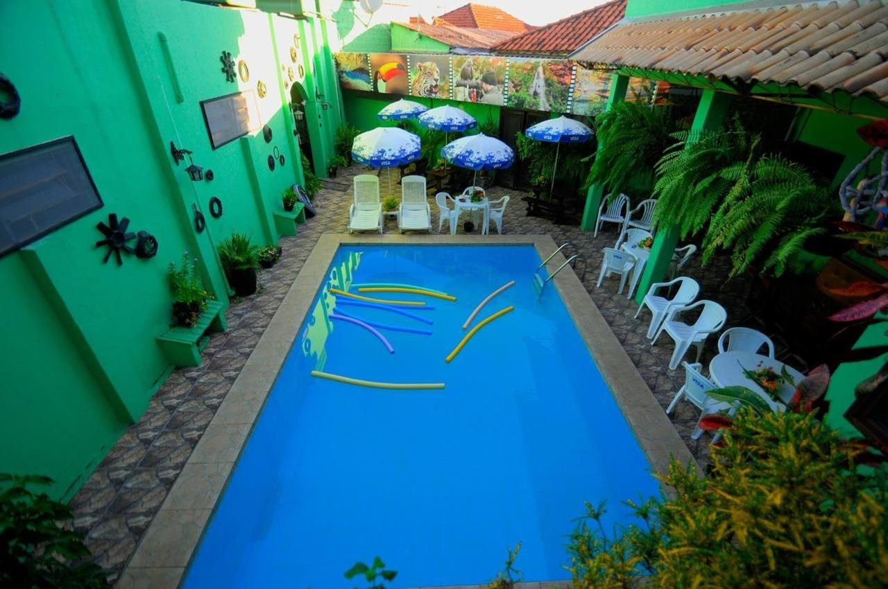View from above Swimming pool Águas do Pantanal.jpg