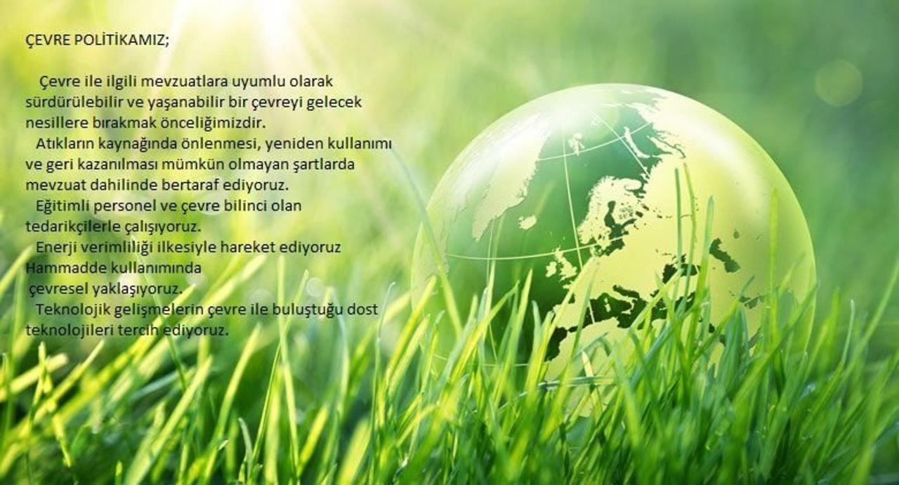 Çevre Politikamız