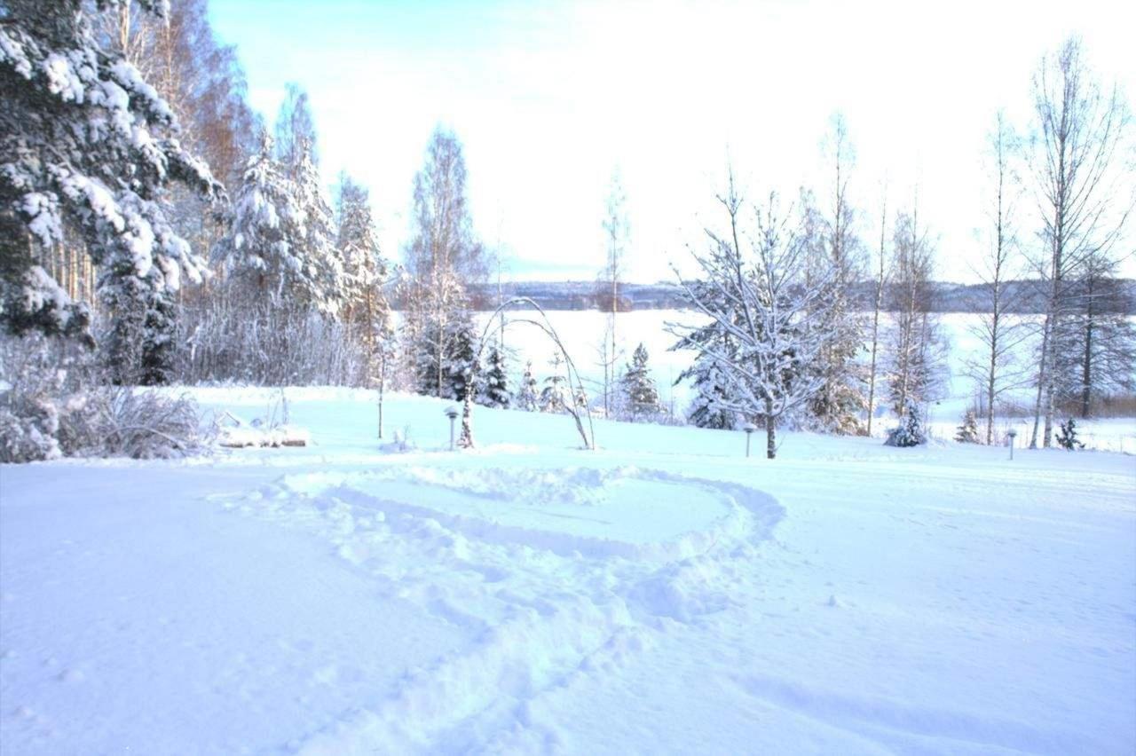Rantamaisema talvella