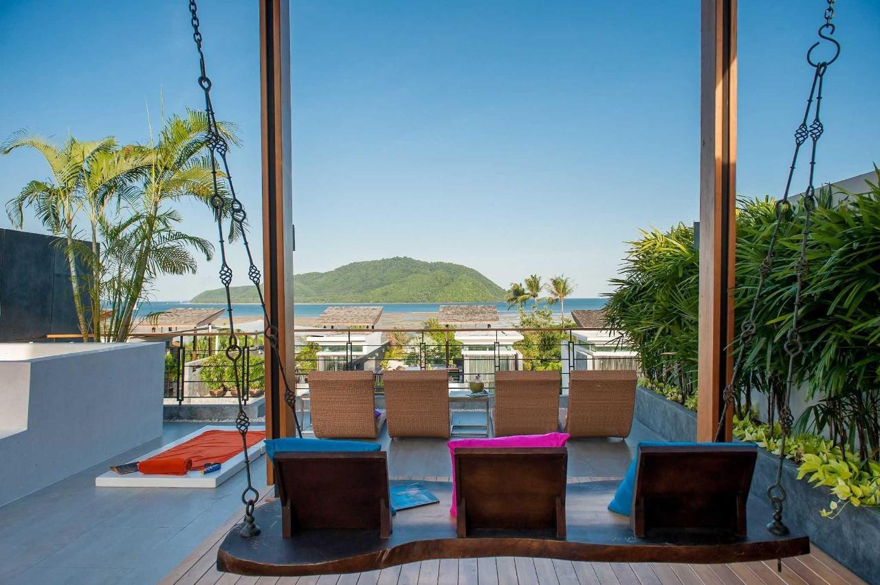 Terrace offers view of Chalong Bay