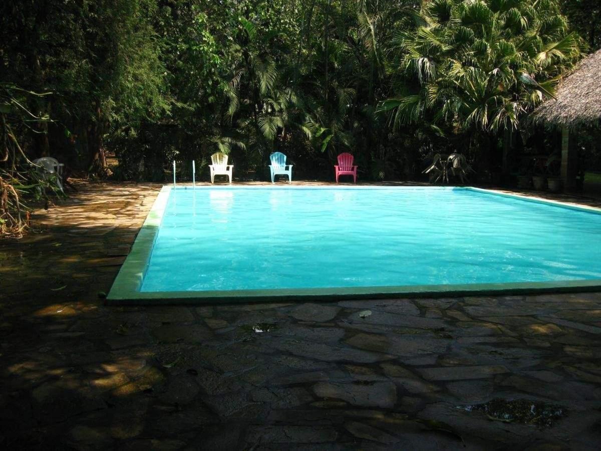 Property14 Un atardecer en la piscina.