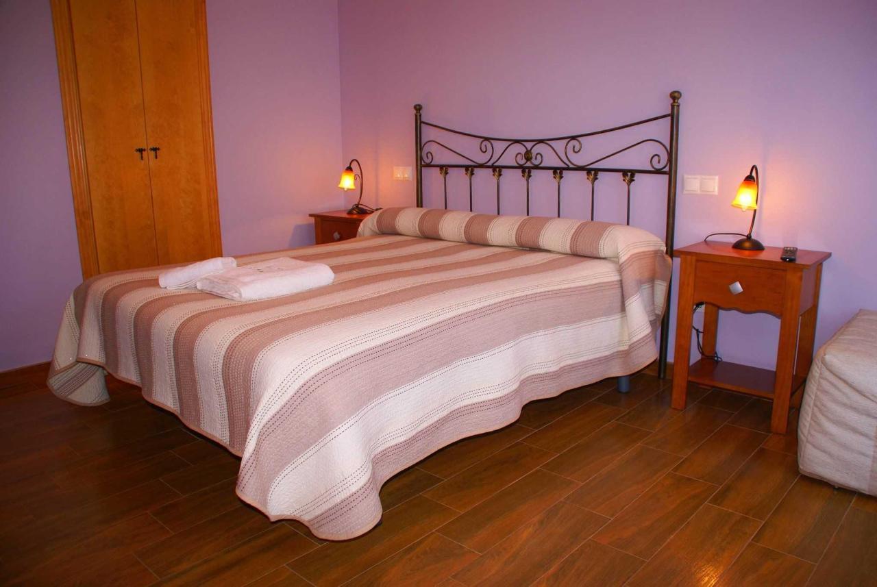 Habitación El Invierno: cama doble