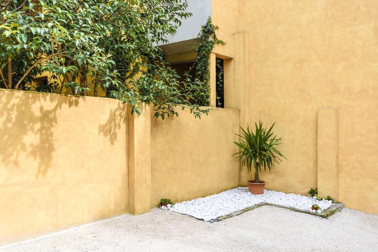 Brick House Treviso giardino
