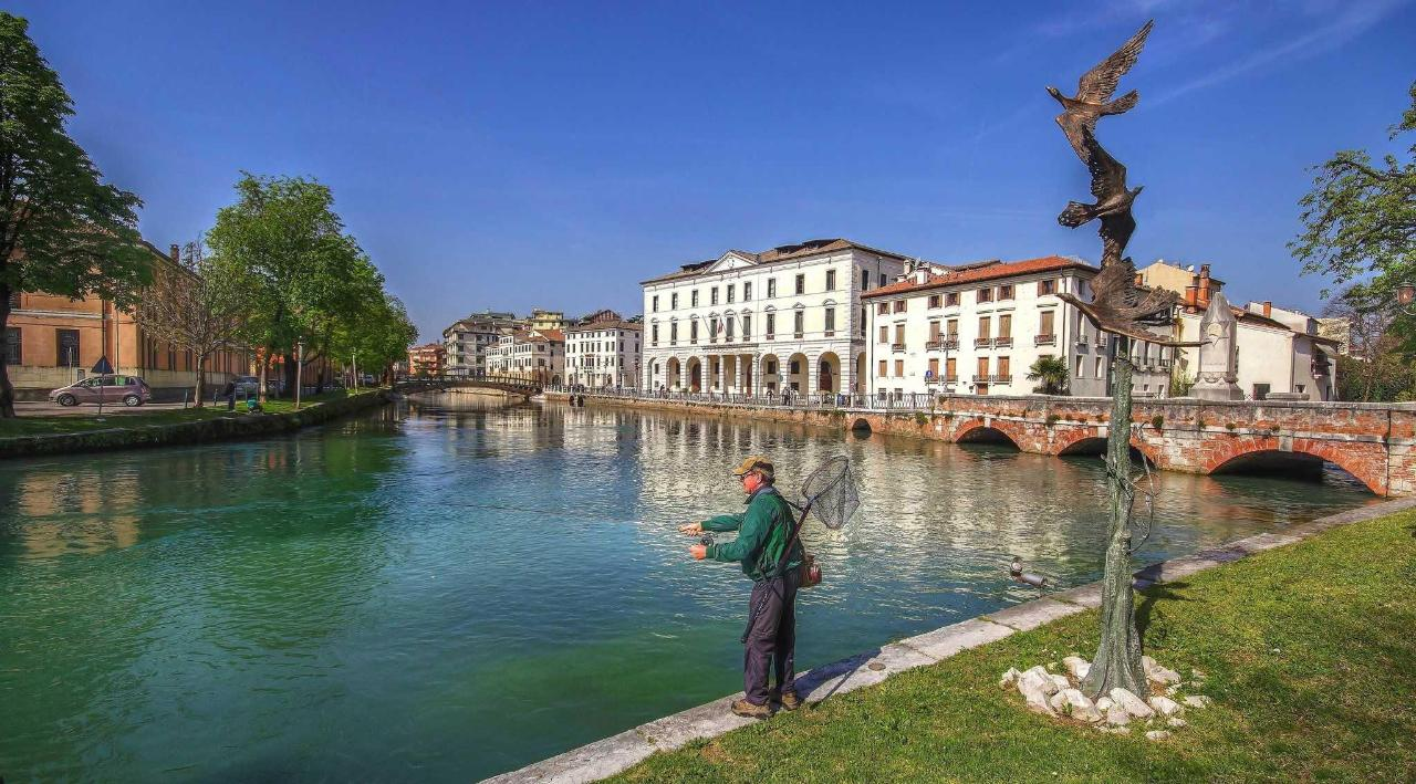 Treviso - River Sile - Riviera Santa Margherita - University zone