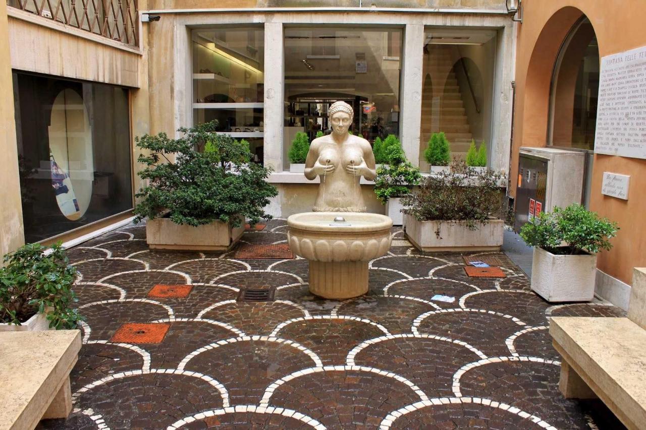 Treviso - Fontana delle Tette