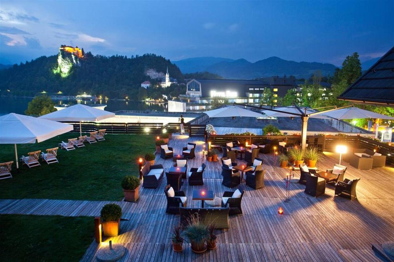 Hotel Kompas Bled - terasa in pogled