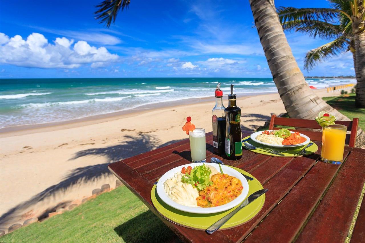 Almuerzo a orillas del mar
